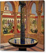 Monreale Palermo 1925 Travel Canvas Print