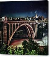 Monroe St. Bridge Canvas Print