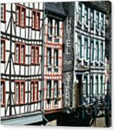 Monschau Hotel Canvas Print
