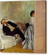 Monsieur And Madame Edouard Manet Canvas Print