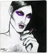Monsieur-madame Canvas Print