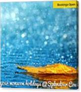 Monsoon Special One Day Picnic Spot Near Khadakwasla Splendour Country Canvas Print