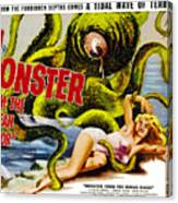 Monster From The Ocean Floor, Anne Canvas Print