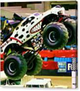 Monster Jam 2013 In Nassau Coliseum Canvas Print