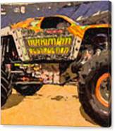 Monster Jam Party In The Pits Canvas Print