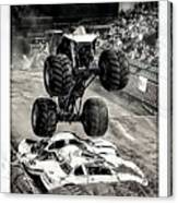 Monster Truck 1b Canvas Print