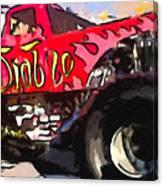 Monster Truck El Diablo Canvas Print