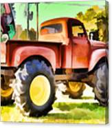 Monster Truck - Grave Digger 1 Canvas Print