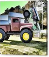 Monster Truck - Grave Digger 2 Canvas Print