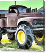 Monster Truck - Grave Digger 3 Canvas Print
