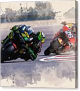 Monster Yamaha Canvas Print