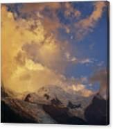 Mont-blanc Canvas Print