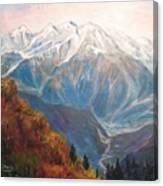 Mont Blanc France Canvas Print
