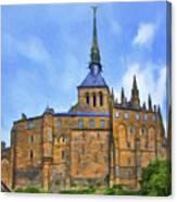 Mont Saint Michel - 2 - France Canvas Print