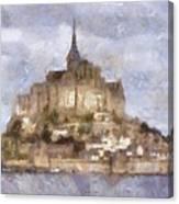 Mont Saint-michel, Normandy, France Canvas Print