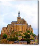 Mont St Michel Canvas Print
