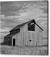 Montana Barn Memories Canvas Print