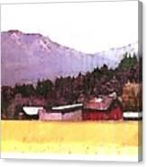 Montana Bound  Canvas Print