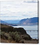 Montana Bridge Canvas Print