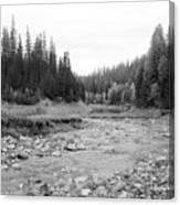 Montana Creek Bend Canvas Print