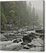 Montana Fog Canvas Print