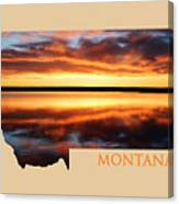 Montana Glory Canvas Print