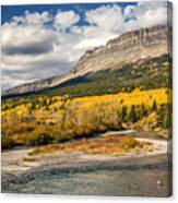 Montana Landscape In Fall Canvas Print