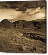 Montana Landscape Canvas Print