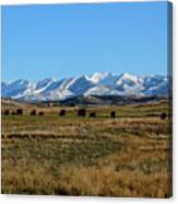Montana Mountains Big Sky Canvas Print