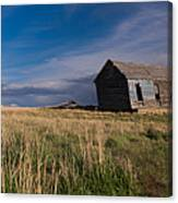 Montana Prairie Homestead Canvas Print
