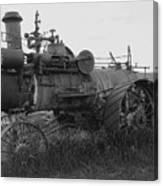 Montana Steam Farm Tractor Canvas Print