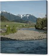 Montana Stream Canvas Print