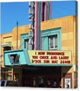 Miles City Montana - Theater Canvas Print