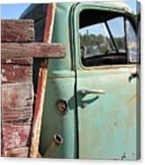 Montana Truck Canvas Print