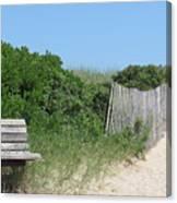 Montauk Beach Canvas Print