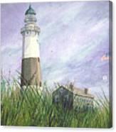 Montauk Lighthouse Canvas Print