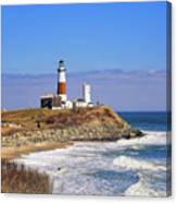 Montauk Point From Camp Hero Canvas Print