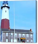 Montauk Point Light  Canvas Print