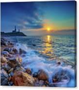 Montauk Sunrise Canvas Print