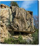 Monte Moro Bunkers - Bunkers Monte Moro Canvas Print