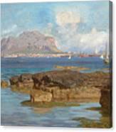 Monte Pellegrino Canvas Print
