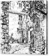 Montefioralle Tuscany Canvas Print