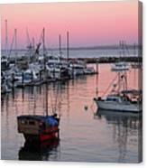 Monterey Bay Harbor Canvas Print