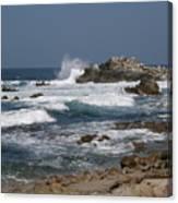 Monterey Coastline Canvas Print