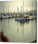 Monterey Marina II Canvas Print
