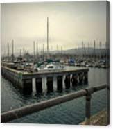 Monterey Marina Canvas Print