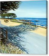 Monterey Shadows Canvas Print