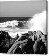 Monterey Waves Canvas Print
