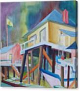 Monterey Wharf Canvas Print