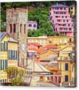 Monterosso Al Mare Cinque Terre Italy Canvas Print